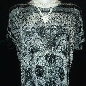 Beautiful Printed Comfy Dress XL